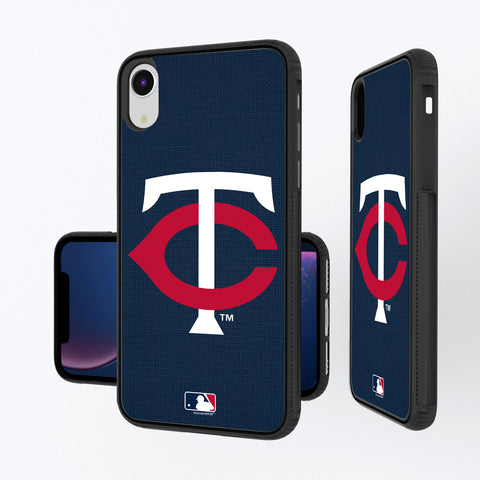 Minnesota Twins Twins Solid iPhone XR Bump Case
