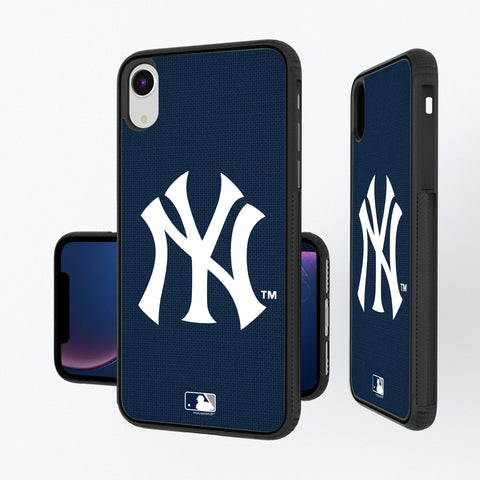 New York Yankees Yankees Solid iPhone XR Bump Case