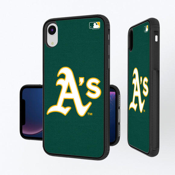 Oakland Athletics Athletics Solid iPhone XR Bump Case