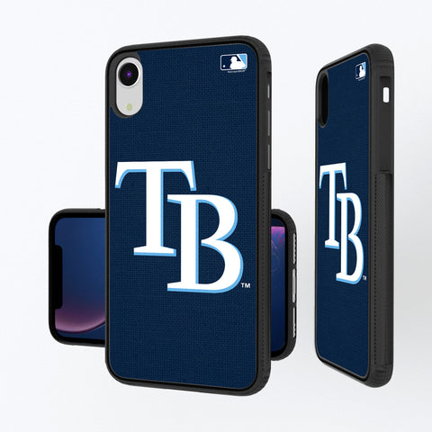 Tampa Bay Rays Rays Solid iPhone XR Bump Case