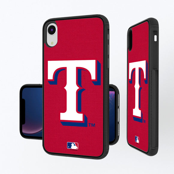 Texas Rangers Rangers Solid iPhone XR Bump Case