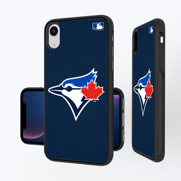 Toronto Jays Solid iPhone XR Bump Case