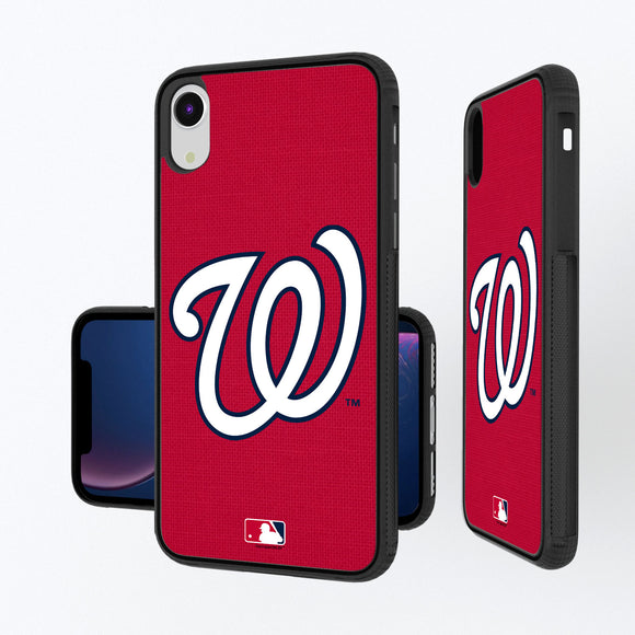 Washington Nationals Nationals Solid iPhone XR Bump Case
