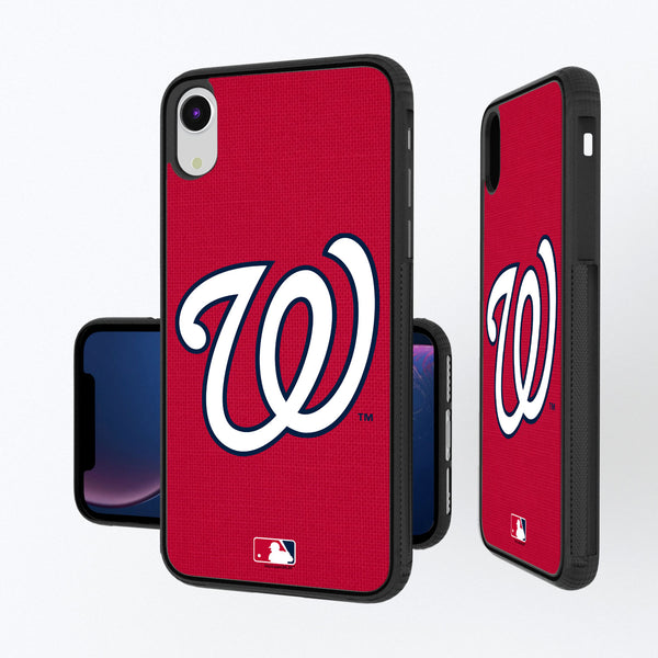 Washington Nationals Solid iPhone XR Bump Case