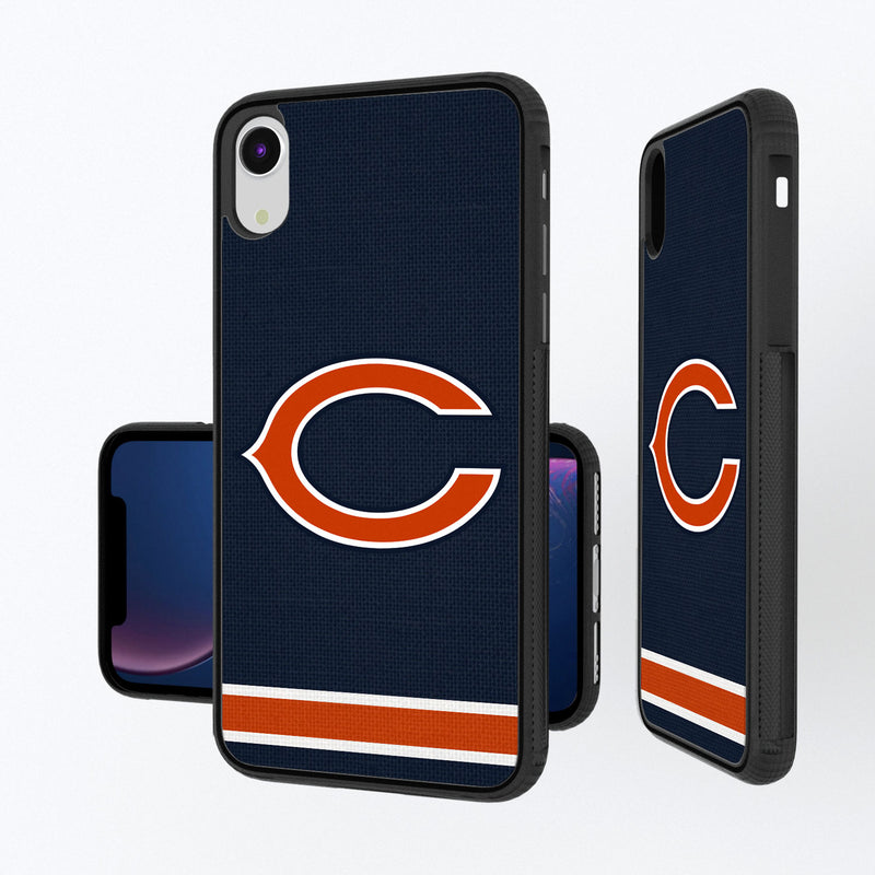 Chicago Bears Stripe iPhone XR Bump Case