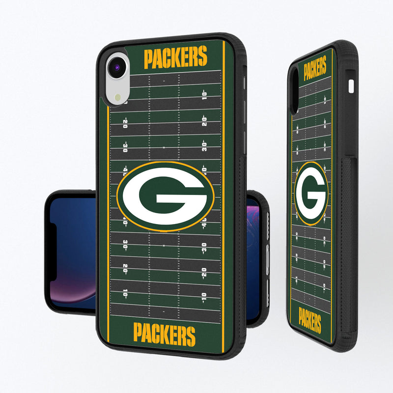 Green Bay Packers Football Field iPhone XR Bump Case