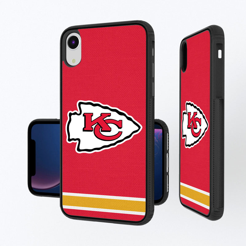 Kansas City Chiefs Stripe iPhone XR Bump Case