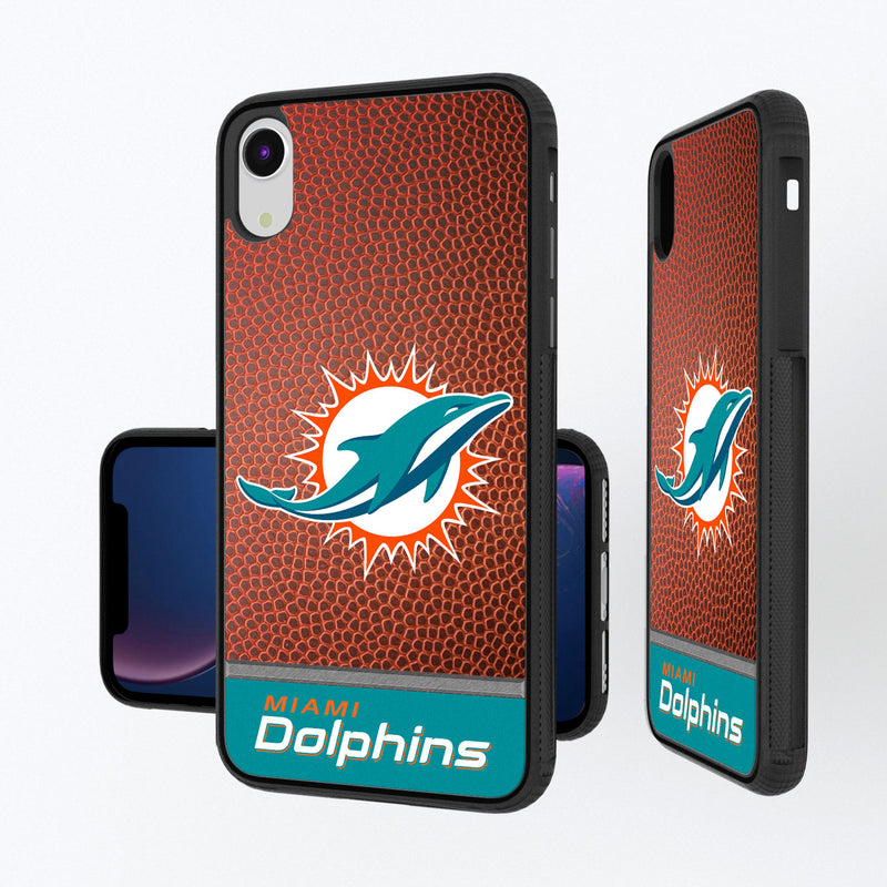 Miami Dolphins Football Wordmark iPhone XR Bump Case