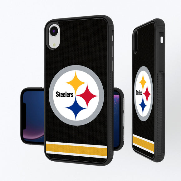 Pittsburgh Steelers Stripe iPhone XR Bump Case