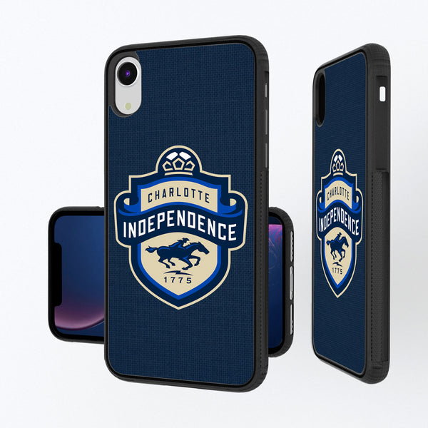 Charlotte Independance Diagonal Stripe iPhone XR Bump Case