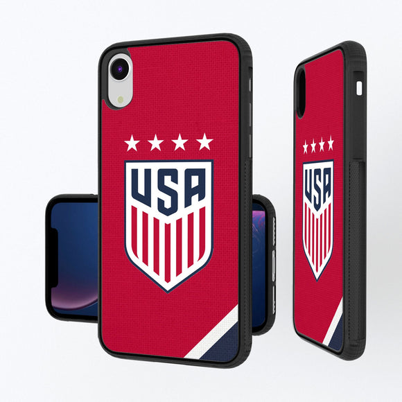 United States Womens National Team Diagonal Stripe iPhone XR Bump Case