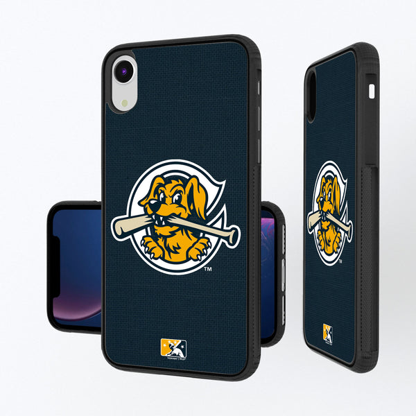 Charleston RiverDogs Solid iPhone XR Bump Case