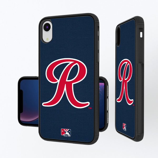 Tacoma Rainiers Solid iPhone XR Bump Case