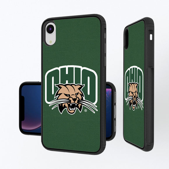 Ohio University Bobcats Solid iPhone XR Bump Case