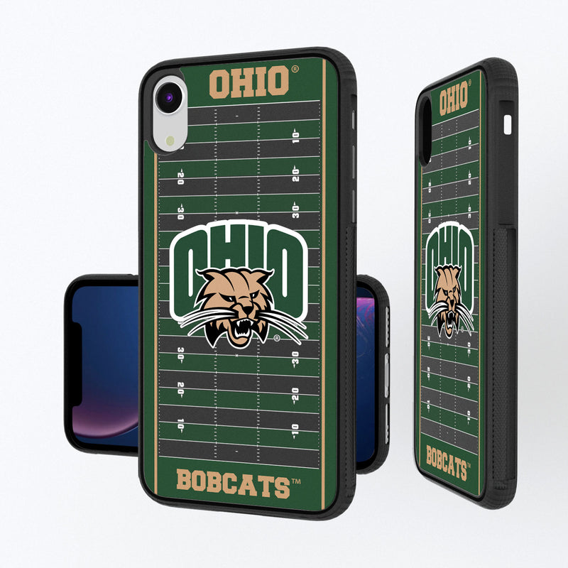 Ohio University Bobcats Football Field iPhone XR Bump Case