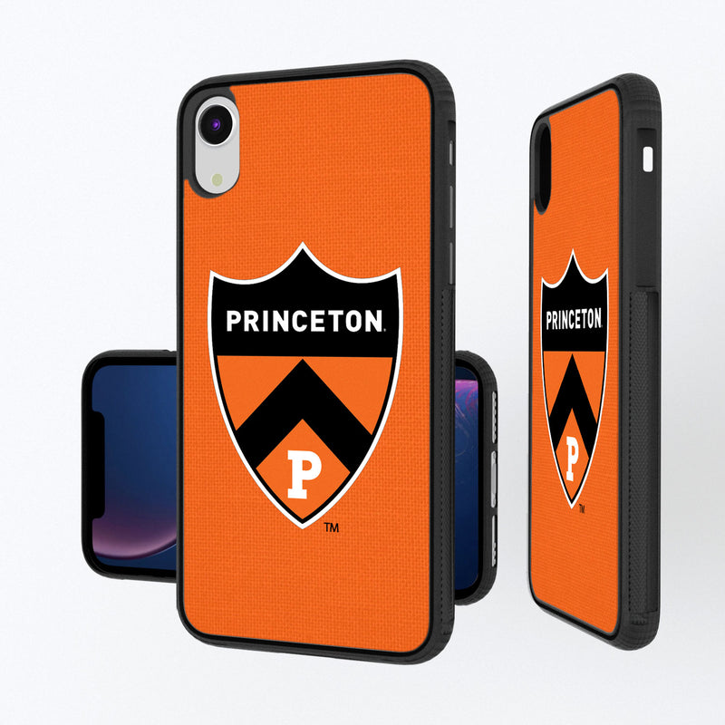 Princeton Tigers Solid iPhone XR Bump Case