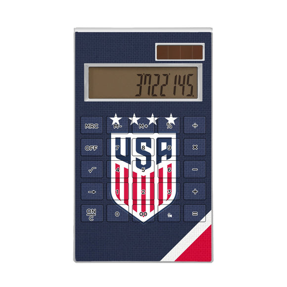 United States Womens National Team Diagonal Stripe Desktop Calculator