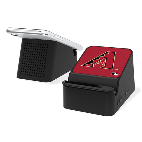 Arizona Diamondbacks D-Backs Solid Wireless Charging Station and Bluetooth Speaker