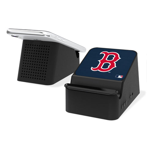 Boston Red Sox Red Sox Solid Wireless Charging Station and Bluetooth Speaker