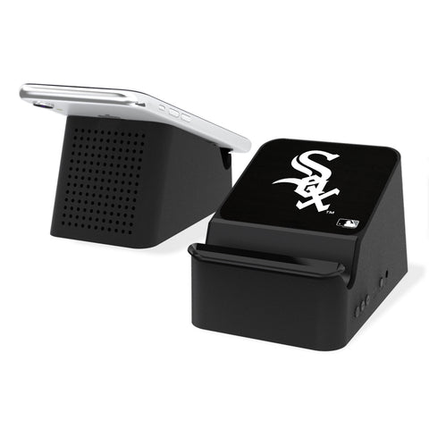 Chicago White Sox White Sox Solid Wireless Charging Station and Bluetooth Speaker