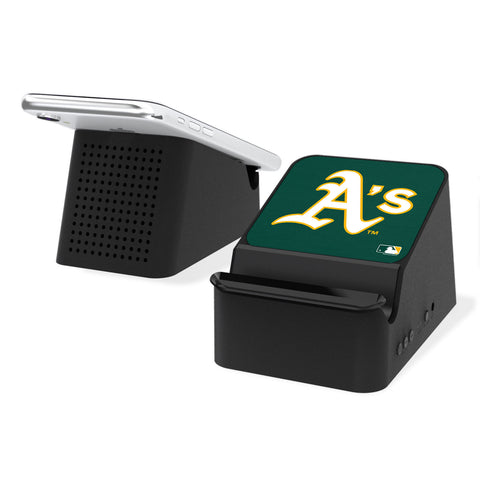 Oakland Athletics Athletics Solid Wireless Charging Station and Bluetooth Speaker