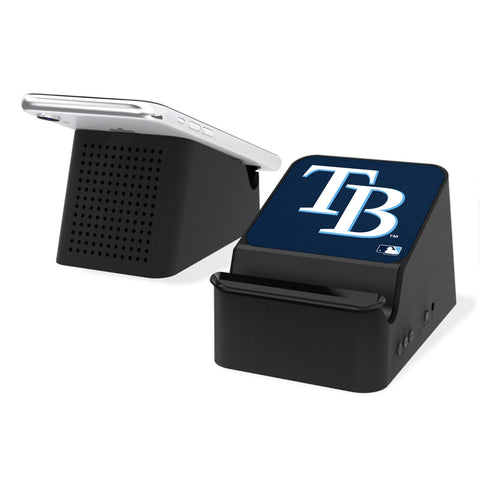 Tampa Bay Rays Rays Solid Wireless Charging Station and Bluetooth Speaker