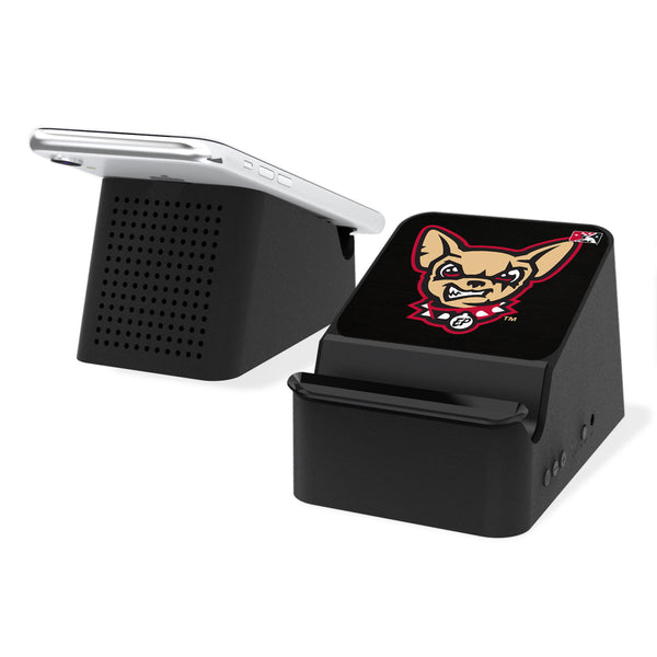 El Paso Chihuahuas Solid Wireless Charging Station and Bluetooth Speaker