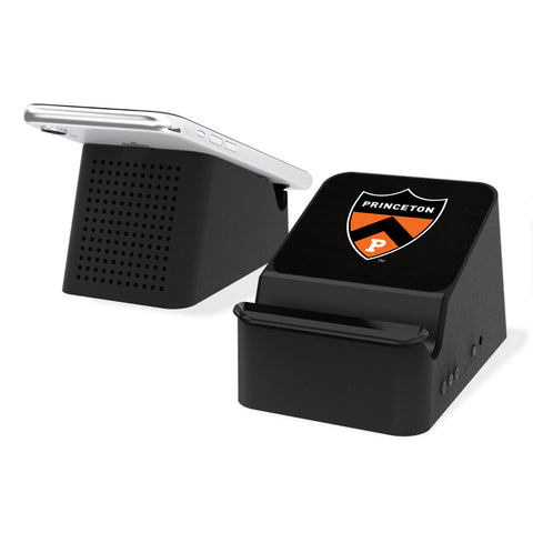 Princeton Tigers Solid Wireless Charging Station and Bluetooth Speaker