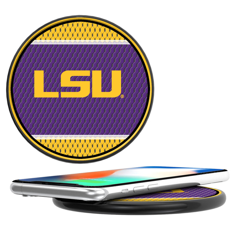 Louisiana State Tigers Mesh 10-Watt Wireless Charger