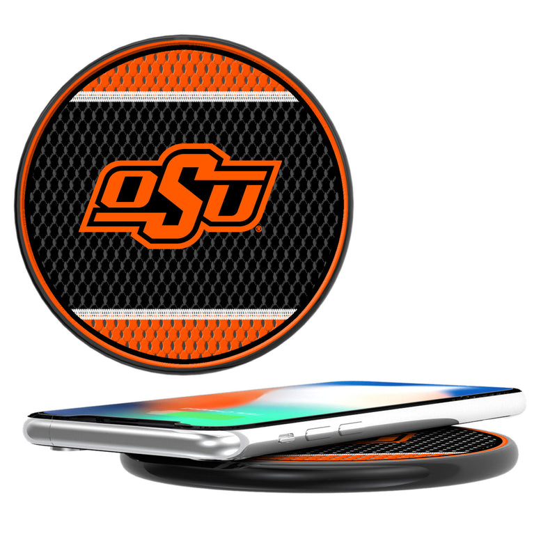 Oklahoma State Cowboys Mesh 10-Watt Wireless Charger