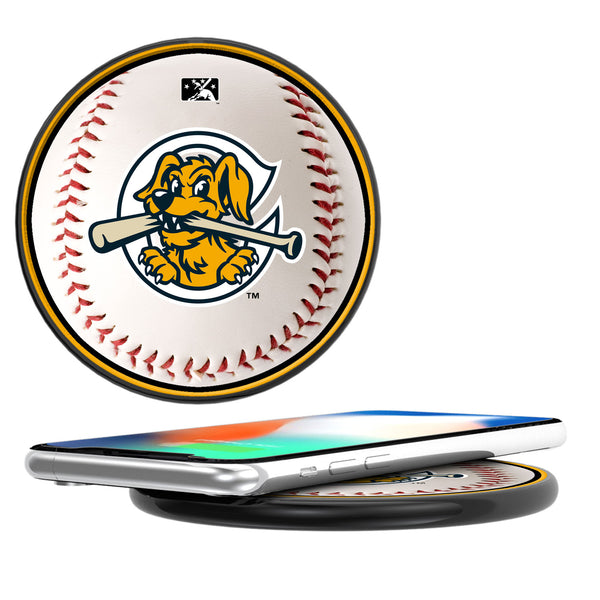 Charleston RiverDogs Baseball 10-Watt Wireless Charger