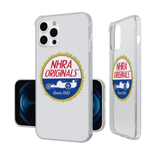 NHRA Insignia iPhone 12 Pro Max Clear Case