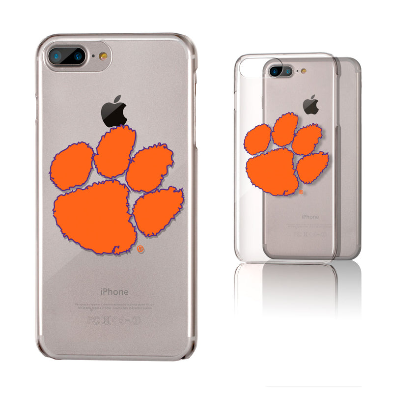 Clemson Tigers Insignia iPhone 7+ / 8+ Plus Clear Slim Case