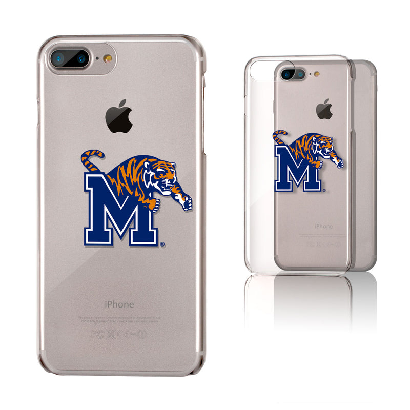 Memphis Tigers Insignia iPhone 7+ / 8+ Plus Clear Slim Case