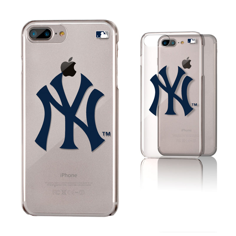 New York Yankees Insignia iPhone 7+ / 8+ Plus Clear Slim Case