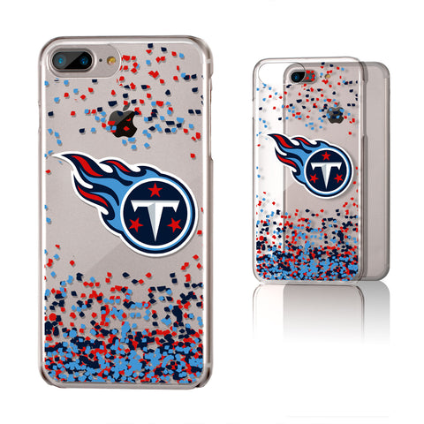 Tennessee Titans Confetti iPhone 6+ / 7+ / 8+ Plus Clear Slim Case