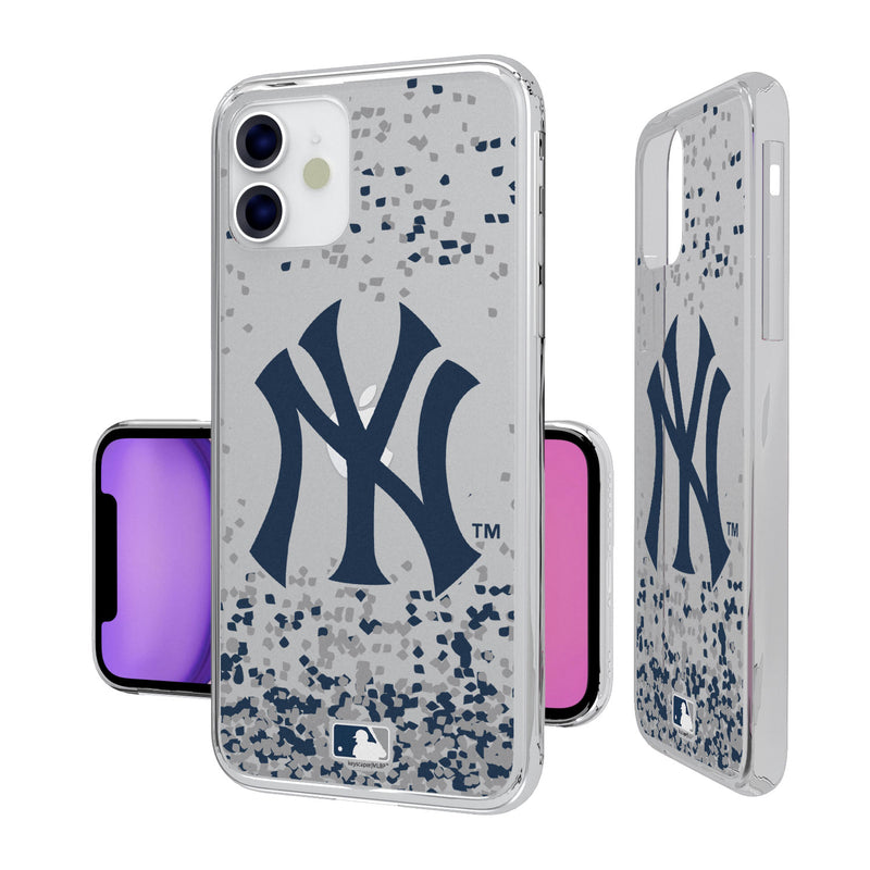 New York Yankees Confetti iPhone 11 Clear Case