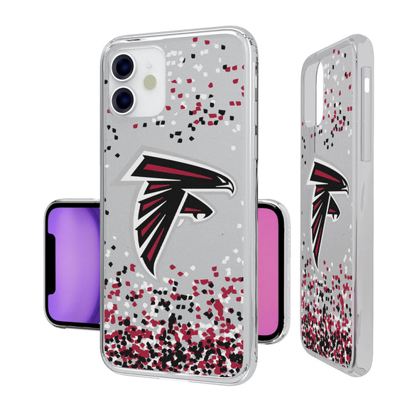 Atlanta Falcons Confetti iPhone 11 Clear Case
