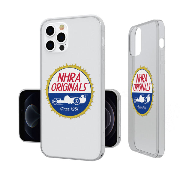 NHRA Insignia iPhone 12 / 12 Pro Clear Case