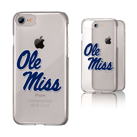 Mississippi Ole Miss Rebels Clear Case for the iPhone 6 / 6S / 7 / 8