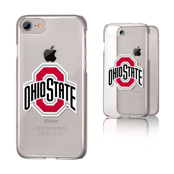 Ohio State Buckeyes Insignia iPhone 7 / 8 Clear Slim Case