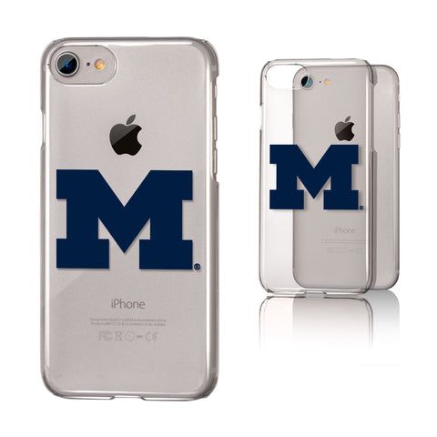 Michigan Wolverines Clear Case for the iPhone 6 / 6S / 7 / 8