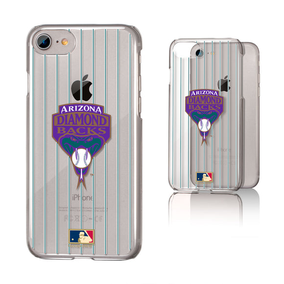 Arizona 1999-2006 - Cooperstown Collection Pinstripe iPhone 7 / 8 Clear Slim Case