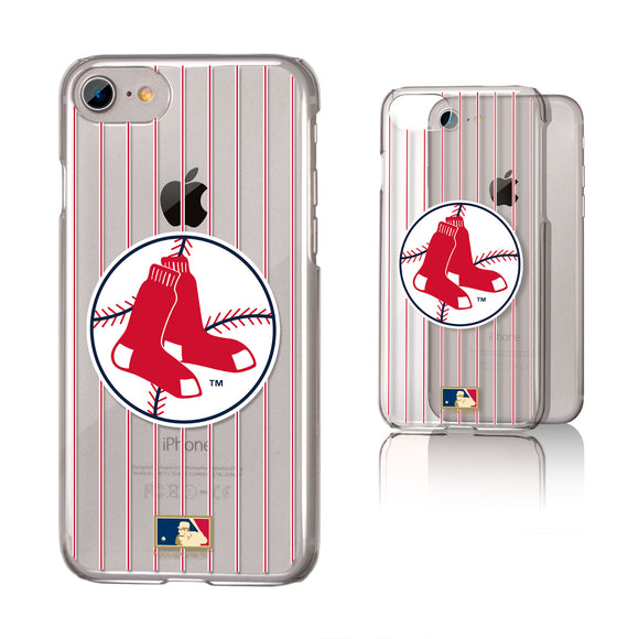 Boston Red Sox 1970-1975 - Cooperstown Collection Pinstripe iPhone 7 / 8 Clear Slim Case