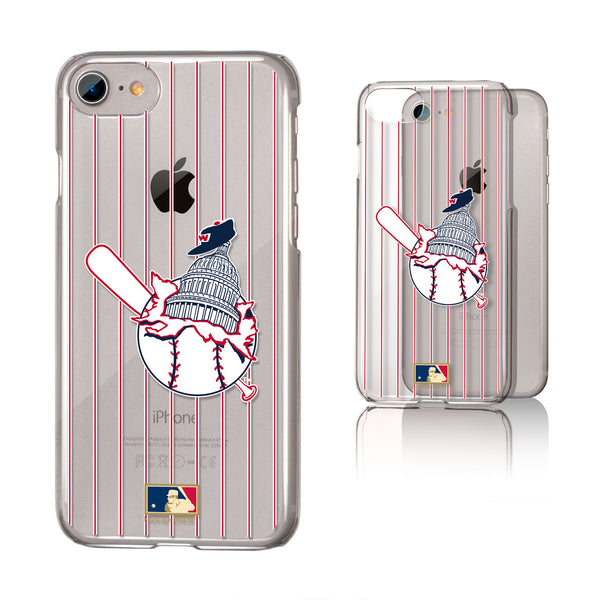 Washington Senators 1953-1956 - Cooperstown Collection Pinstripe iPhone 7 / 8 Clear Slim Case