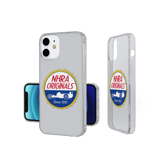 NHRA Insignia iPhone 12 Mini Clear Case