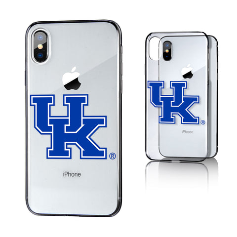 UK Kentucky Wildcats Insignia Clear Case for iPhone X