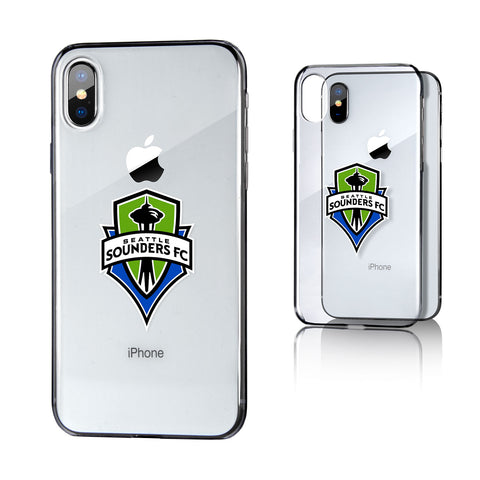 Seattle Sounders FC iPhone X Clear Case