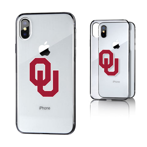 Oklahoma Sooners Insignia Clear Case for iPhone X