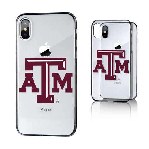 ATM Texas A&M Aggies Insignia Clear Case for iPhone X